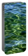 Lake Tahoe Swirls Portable Battery Charger