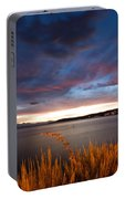 Lake Taupo Sunset Portable Battery Charger