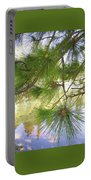 Lake View With Ponderosa Pine Portable Battery Charger