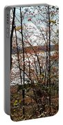 Lake Wallenpaupack Through The Trees Portable Battery Charger