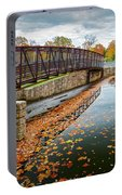 Lake Waterford Fall Waterscape Portable Battery Charger