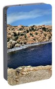 Lake Watson At The Dells 1 - Prescott, Arizona Portable Battery Charger