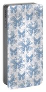 Lalabutterfly Blue Wedgewood Reverse Portable Battery Charger