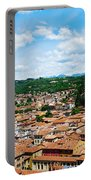 Lamberti Tower View Of Verona Italy Portable Battery Charger