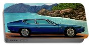 Lamborghini Espada 1968 Painting Portable Battery Charger
