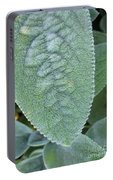 Lambs Ear Leaf Portable Battery Charger