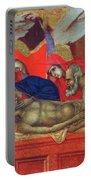 Lamentation Of Christ Fragment 1311 Portable Battery Charger
