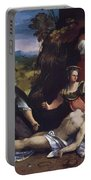 Lamentation Over The Body Of Christ 1517 Portable Battery Charger