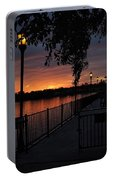 Lamplight And Daybreak  Portable Battery Charger