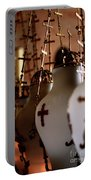 Lamps Inside The Church Of The Holy Sepulchre, Jerusalem Portable Battery Charger