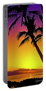 Lanai Sunset II Maui Hawaii Portable Battery Charger
