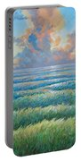 Land Becoming Sea Iv Portable Battery Charger