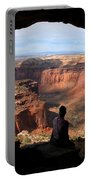 Land Of Canyons Portable Battery Charger