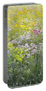 Land Of Flowers Portable Battery Charger