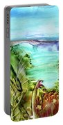 Land Sea And Sky Portable Battery Charger