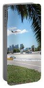 Landing In San Diego Portable Battery Charger