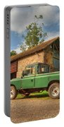 Landrover And The Barn Portable Battery Charger