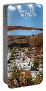 Landscape Arch - Arches National Park Moab Utah Portable Battery Charger
