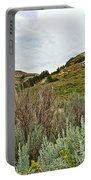 Landscape In Northwest North Dakota  Portable Battery Charger