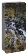Landscape In Snowdonia Portable Battery Charger