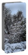 Landscape In The Snow Portable Battery Charger