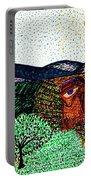 Landscape Portable Battery Charger by Sarah Loft