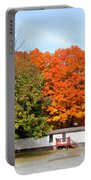 Landscape View Of Mobile Home 2 Portable Battery Charger