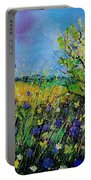 Landscape With Cornflowers 459060 Portable Battery Charger