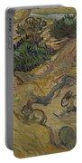 Landscape With Rabbits Saint Remy De Provence December 1889 Vincent Van Gogh 1853  1890 Portable Battery Charger