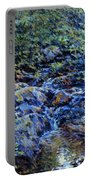 Landscape With Waterfall 1890 Portable Battery Charger
