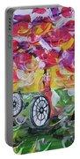 Landscape Women Bike Portable Battery Charger