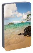 Lanikai Beach 1 - Oahu Hawaii Portable Battery Charger