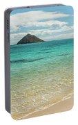 Lanikai Beach 4 Pano - Oahu Hawaii Portable Battery Charger