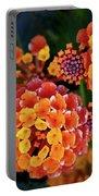 Lantana Blooms Portable Battery Charger