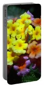 Lantana Flower Chips Portable Battery Charger