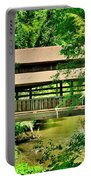 Lanterman's Mill Covered Bridge Portable Battery Charger
