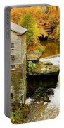 Lantermans Mill In Fall Portable Battery Charger