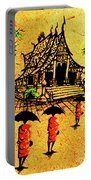 Procession To Temple, Lao Collection Portable Battery Charger