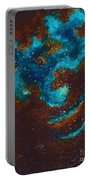 Lapis Lazuli Nebula  Portable Battery Charger