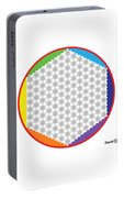 Large 64 Tetra Flower Of Life Portable Battery Charger