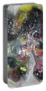 Large Color Fever Abstract25-original Abstract Painting Portable Battery Charger