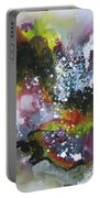 Large Color Fever Art23 Portable Battery Charger