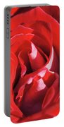 Large Red Rose Center - 003 Portable Battery Charger