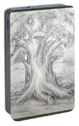 Large Shady Tree Portable Battery Charger