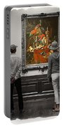 Larger Than Life - Contemplating Art Portable Battery Charger