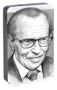 Larry King Portable Battery Charger