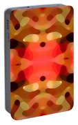 Las Tunas Abstract Pattern Portable Battery Charger