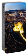 Las Vegas Glitter Portable Battery Charger