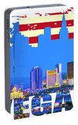 Las Vegas Nevada Skyline Portable Battery Charger
