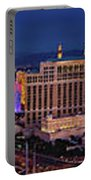 Las Vegas Panoramic Aerial View Portable Battery Charger